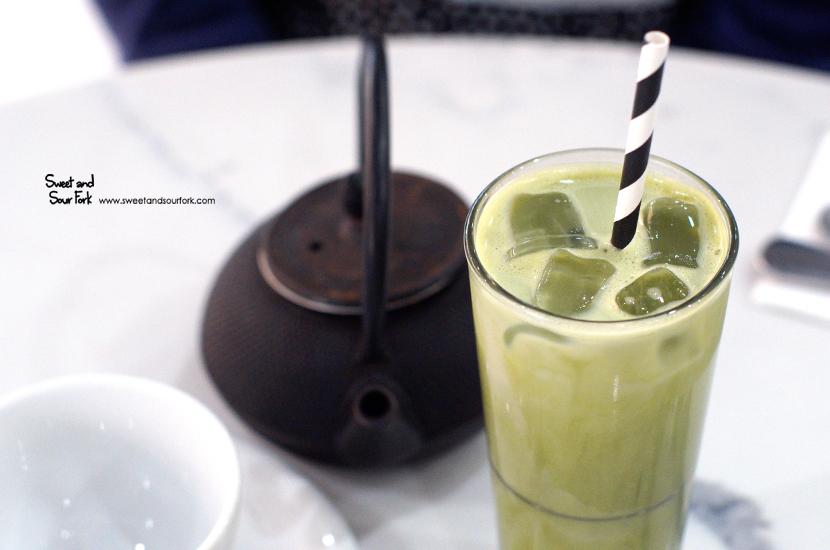 Iced Matcha Latte ($7)