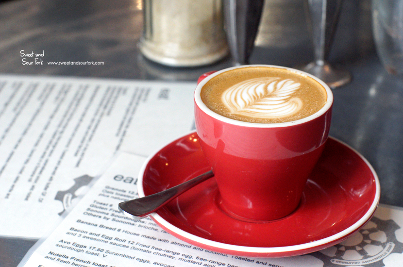 Skinny Flat White ($3.5, small)