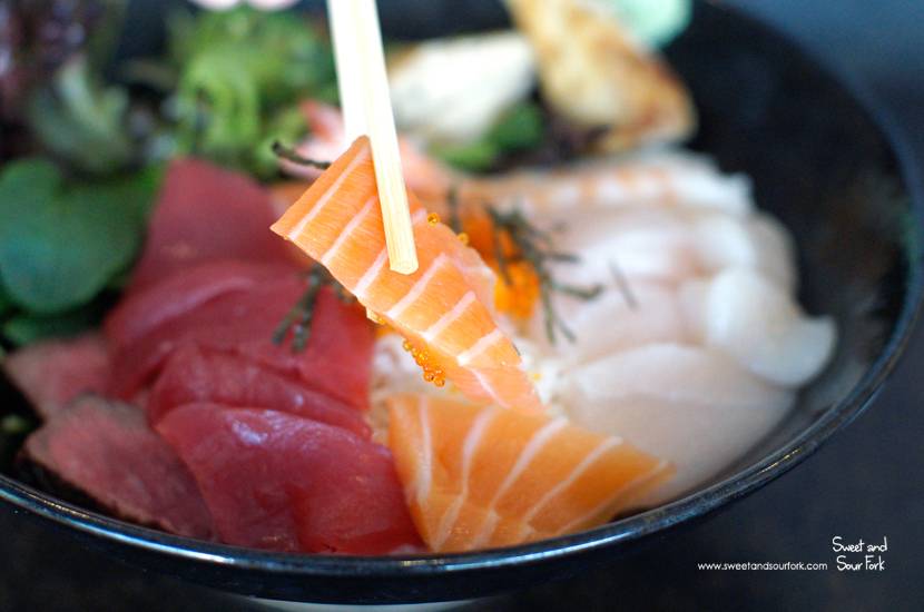 Chirashi Sushi ($21.8)