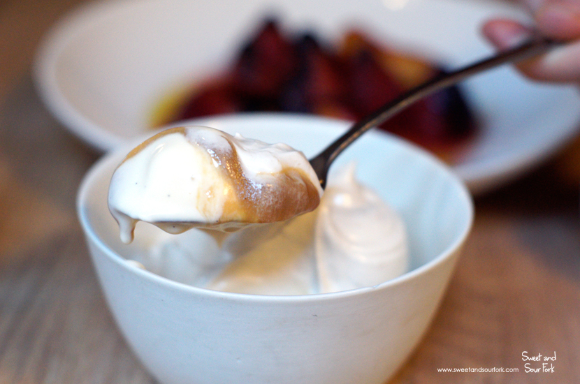 Smoked Milk Ice Cream, Whipped Honey ($15)